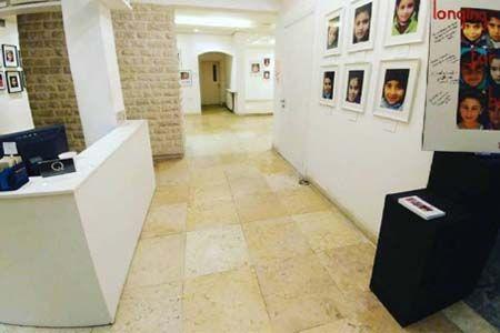salle d'exposition de la foreign art gallery à Amman en Jordanie