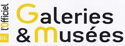 logo du magazine l'officiel des galeries et musées