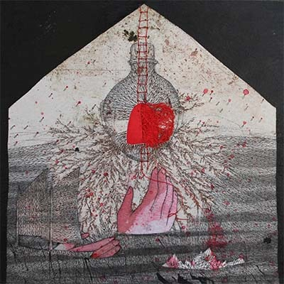 oeuvre d'art symbolique par Viviane Michel