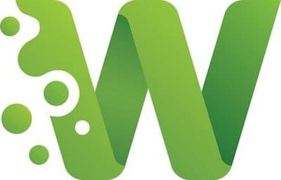 logo représentant un w majuscule vert sur fond blanc