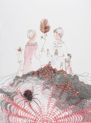 Amandine Guindet et Viviane Michel - exposition Va-et-vient
