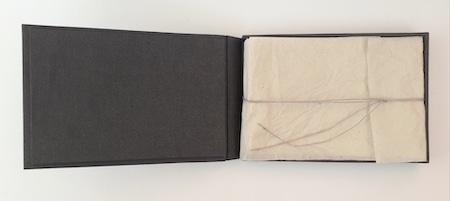 """2e version du livre d'artiste """"humeur du temps"""" par Viviane Michel"""