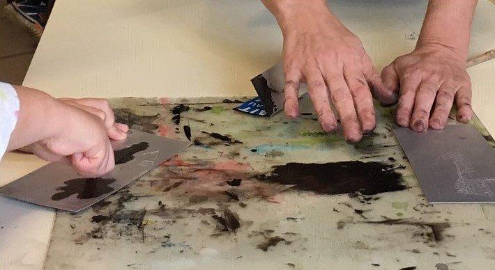 ateliers artistes creations enfants viviane michel