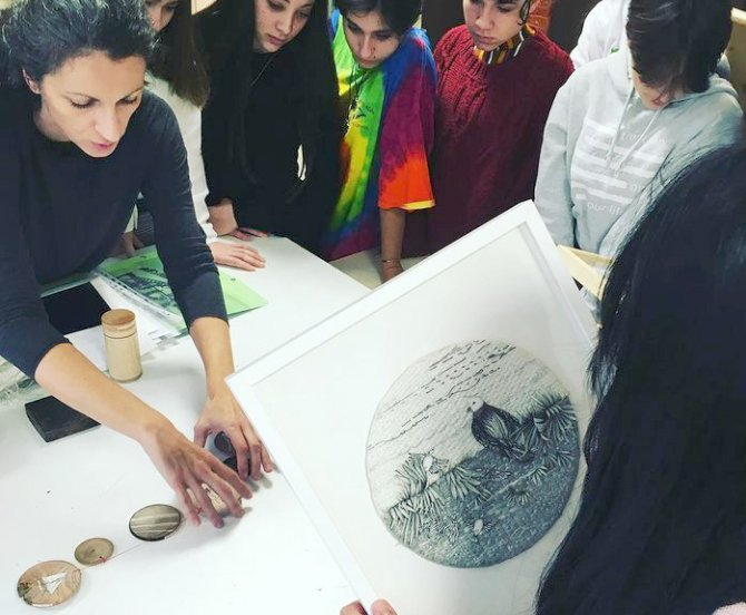 Ateliers artistiques - Workshop - Viviane Michel