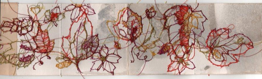 """Livre d'artiste - """"Quand les premiers flocons tombèrent"""" - Viviane Michel"""