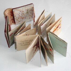 """Livres d'artistes - """"Quand les premiers flocons tombèrent"""" - Viviane Michel"""