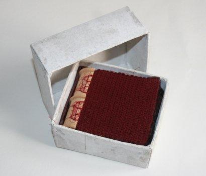 livres artistes quand les premiers flocons tomberent boite ouverte viviane michel