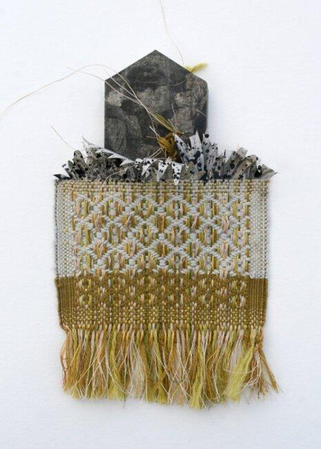 """Création textile - """"Seuil"""" - Viviane Michel"""