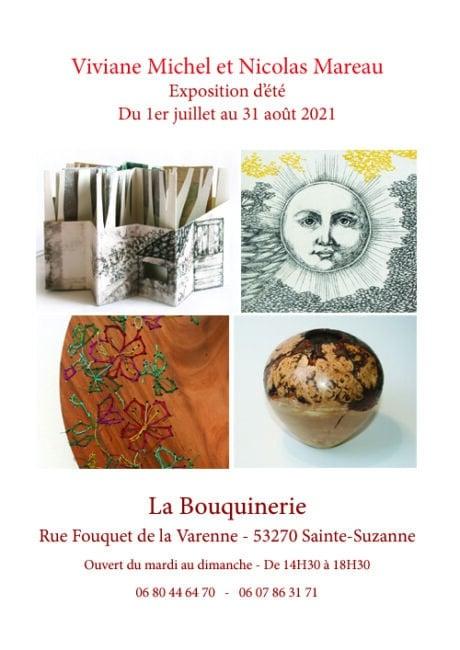 Actualités - Exposition à Sainte-Suzanne - Viviane Michel - Nicolas Mareau