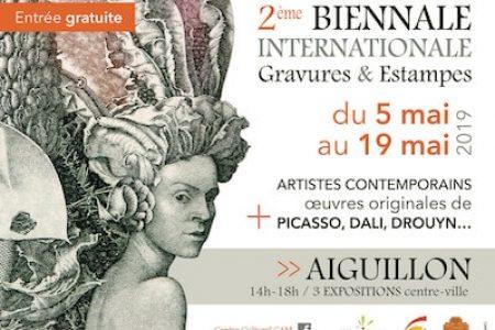 2e biennale internationale de la gravure à Aiguillon