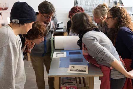 atelier de formation à la photogravure