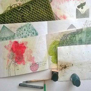 les différentes parties d'un livre d'art de Viviane Michel
