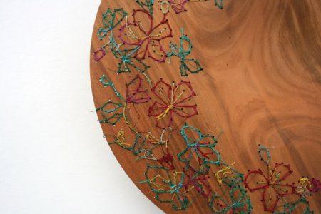 petits objets artistes plat offrande viviane michel