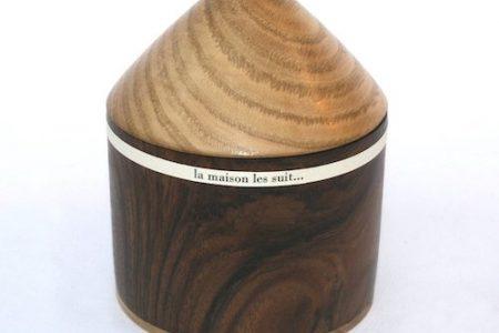 coffret en bois du Livre d'artiste de Viviane Michel